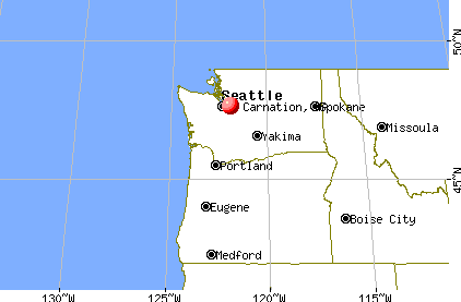 carnation map