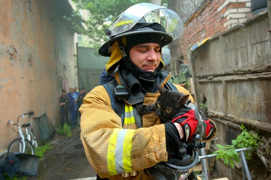 russian firefighter