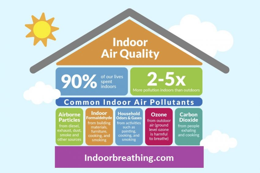 Poor indoor air quality is affecting us and our companion animals. We can't see it and therefore ignore it.