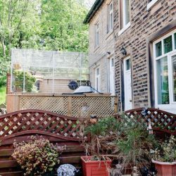 Catio in front garden breached planning regulations