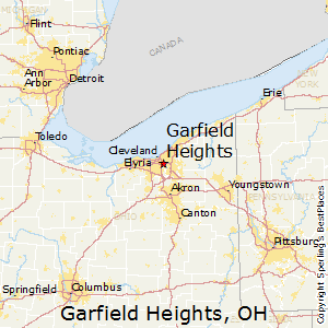 Garfield Heights map