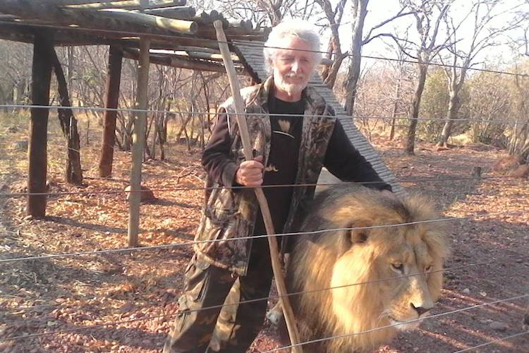Lion Man killed by captive lion