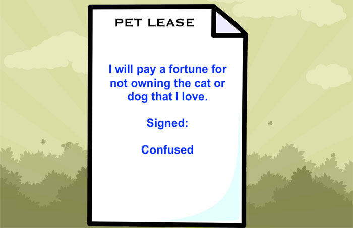 Pet lease agreement
