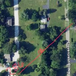 Brian Bickel's rifle shot marked out by police