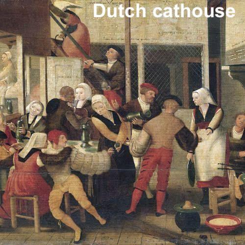 Amsterdam cathouse