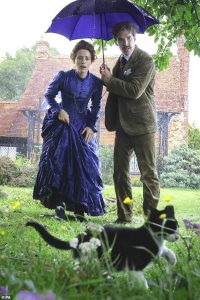 Benedict Cumberbatch and Claire Foy in the film about Louis Wain