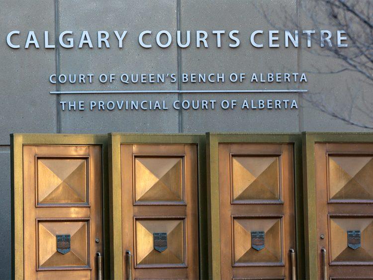 Calgary court building