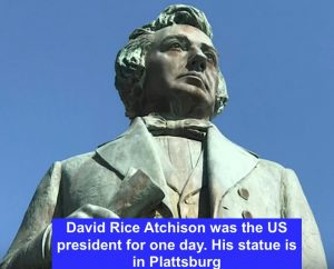 David Rice Atchinson statue