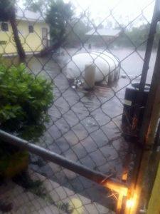animal shelter flooded