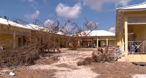 Humane Society of Grand Bahama after the hurricane