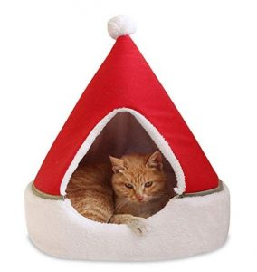 Cat Christmas bed