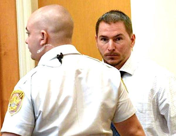 Mark Heath in court building