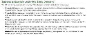 EU Birds Directive