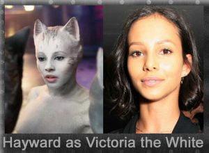 Hayward as Victoria the White
