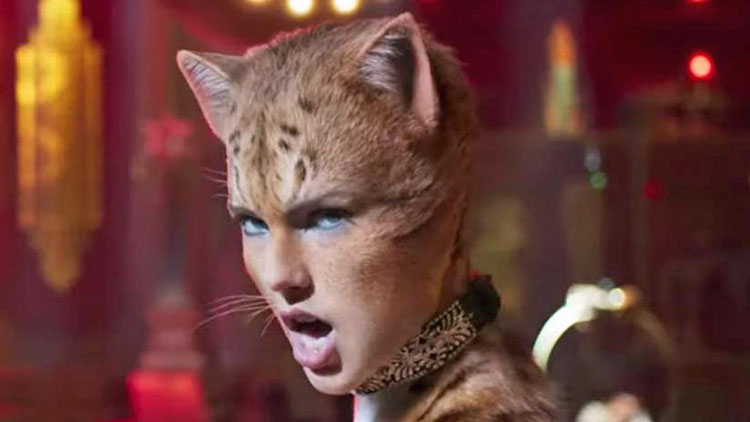 Taylor Swift in the movie Cats