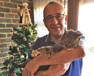 Tabs and John on Christmas Day