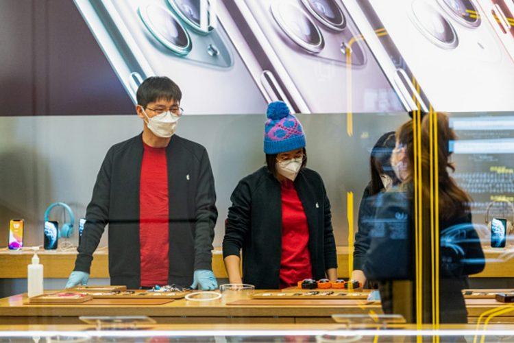 Apple store China before closure
