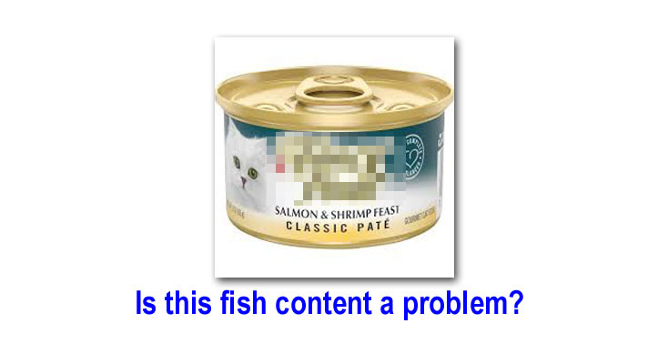 Can fish based cat foods contribute or cause CKD?