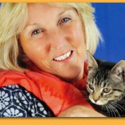 Ingrid Newkirk and cat