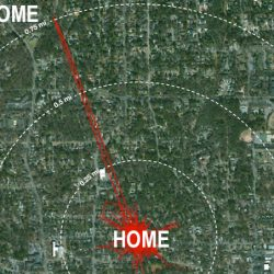 Cat visited previous home 0.75 miles away when current owners disappeared for a weekend