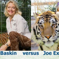 Carole Baskin versus Joe Exotic