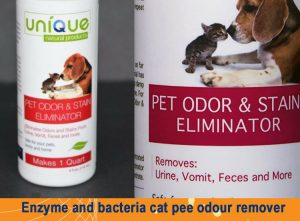 Cat pee odour remover