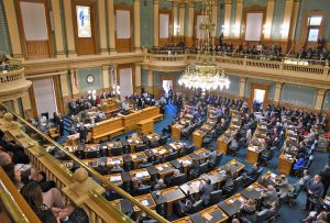 Colorado House chambers at the state Capitol