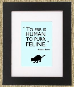 To purr is feline