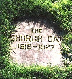 Grave of Tom a church cat