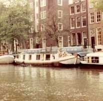 First cat boat of Amsterdam