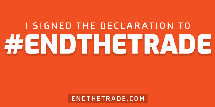 End wild animal trade