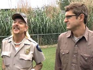 Joe Exotic and Theroux