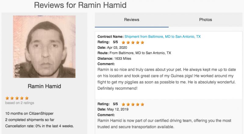 Ramin Hamid reviews!