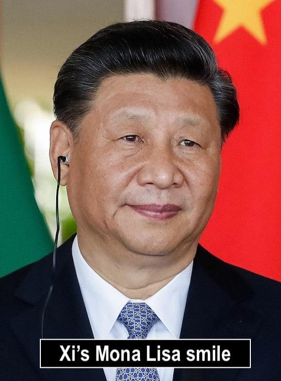 Xi's Mona Lisa Smile