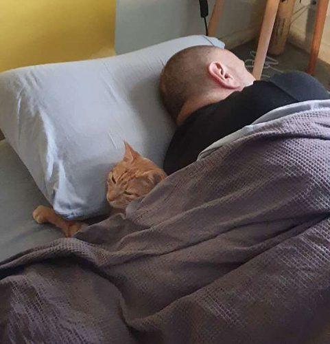 Tigger on sleepover