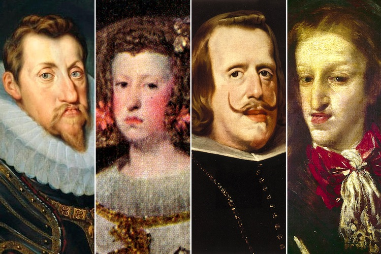 Inbreeding among European royals. An example of how inbreeding affects the human animal.