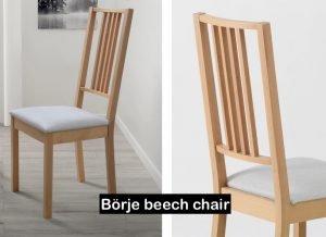 Börje beech chair