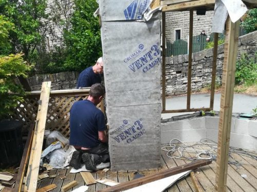 The catio that breached planning regulations