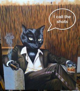 Let the cat calls the shots