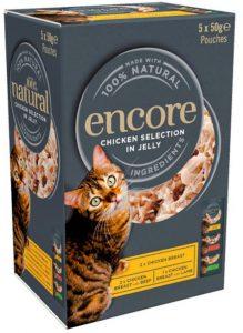Encore cat food