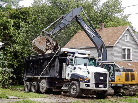 Cat house demolished