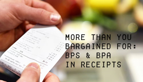 Thermal paper receipts more than you bargained for