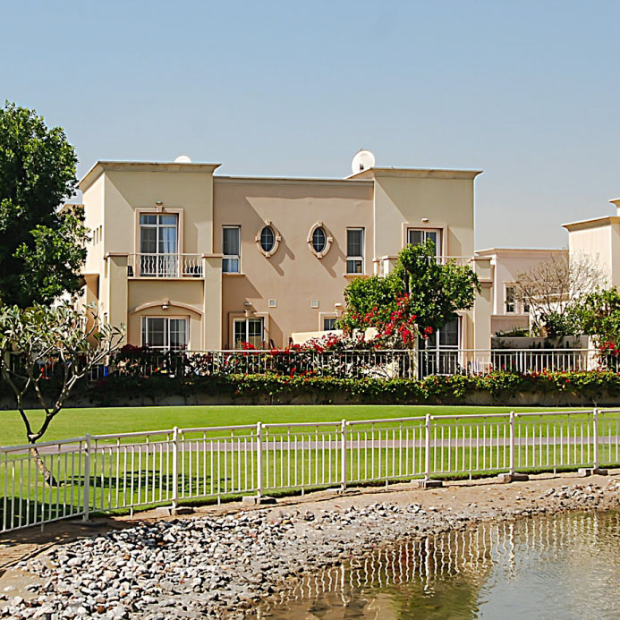 Emirates Living development - a beautiful place