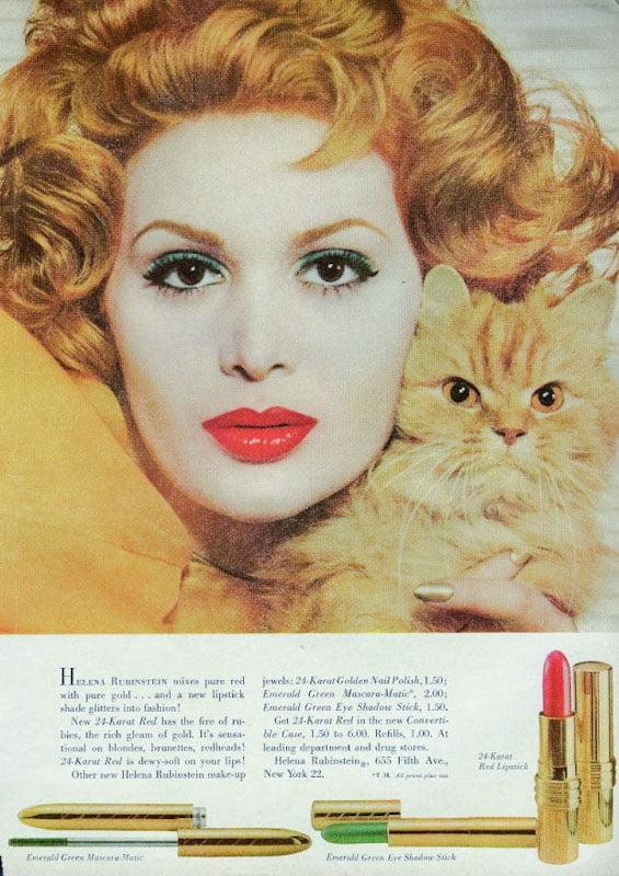 Mademoiselle Magazine Helena Rubinstein advert