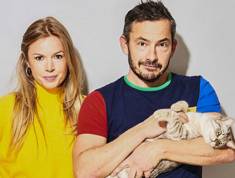 Esther Walker, Giles Coren and Mo Tenzing