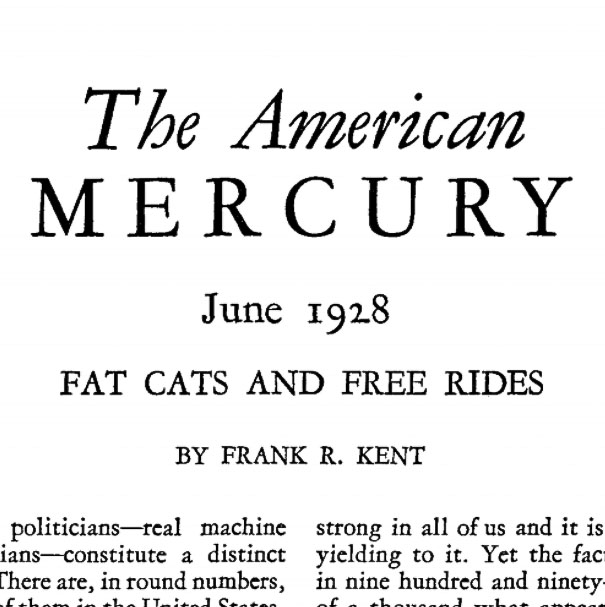 Fat Cats and Free Rides