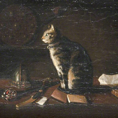Hinse Sir Waler Scott's pet cat