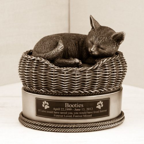 Pet ashes urn