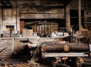 Derelict buildings may contain asbestos