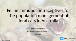 Virally-vectored immunocontraceptives as a potential population management tool